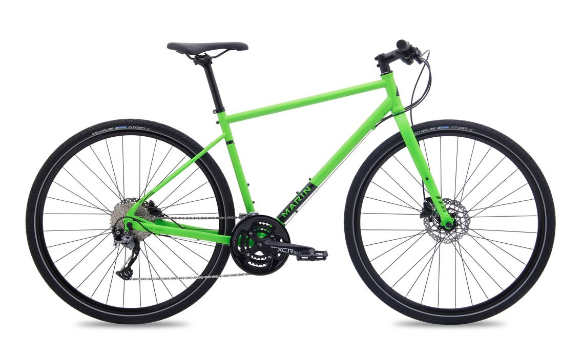 2017 Marin Muirwoods Green £595