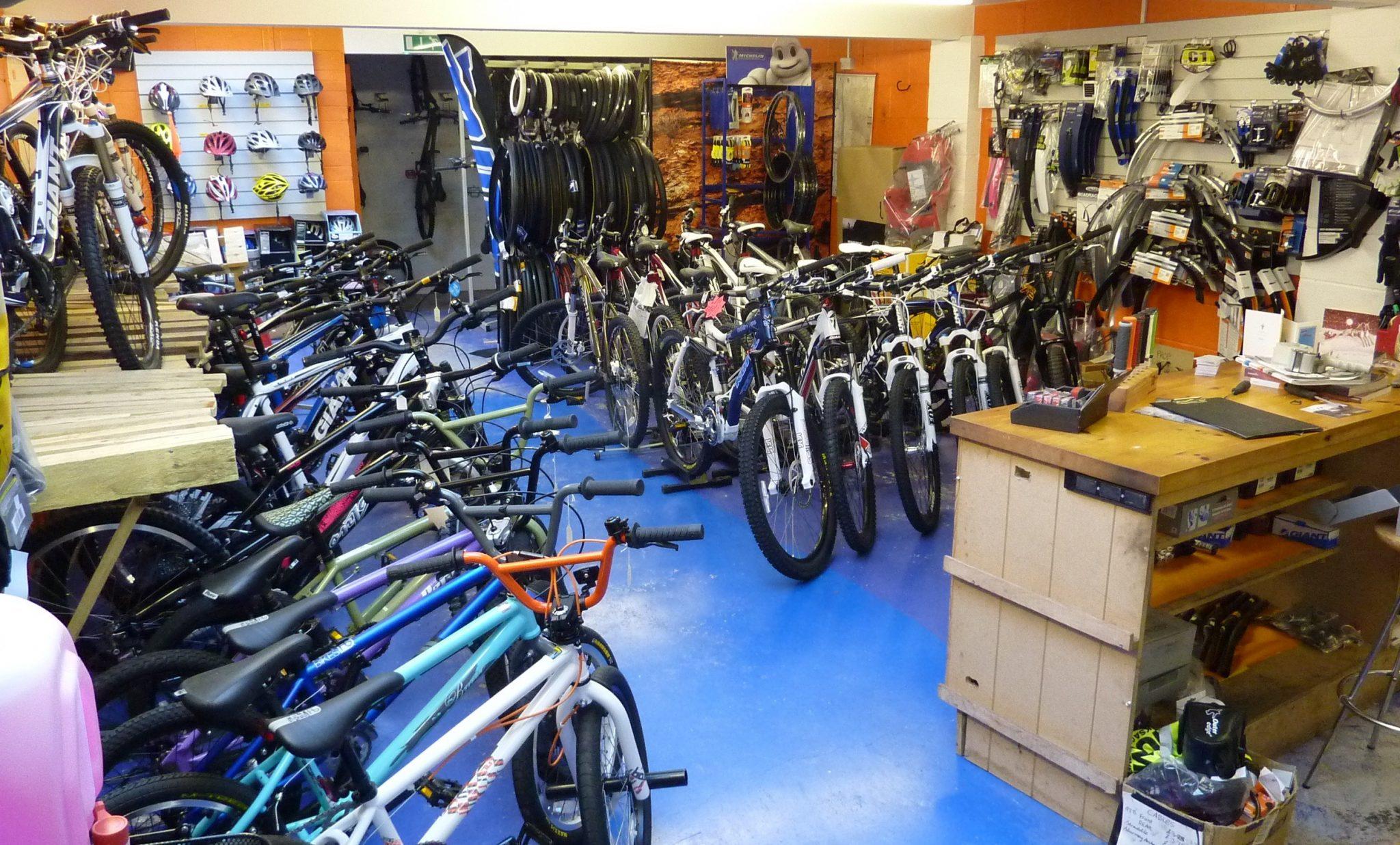 shop rear showroom