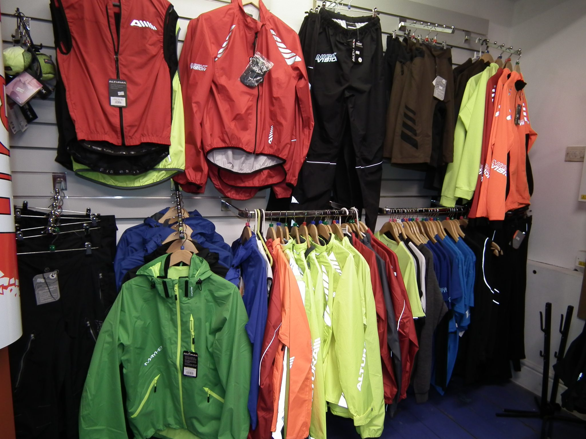 Great Range of Jackets and Windproofs