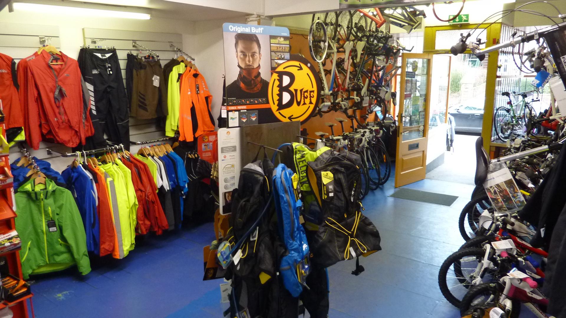 inside shop front