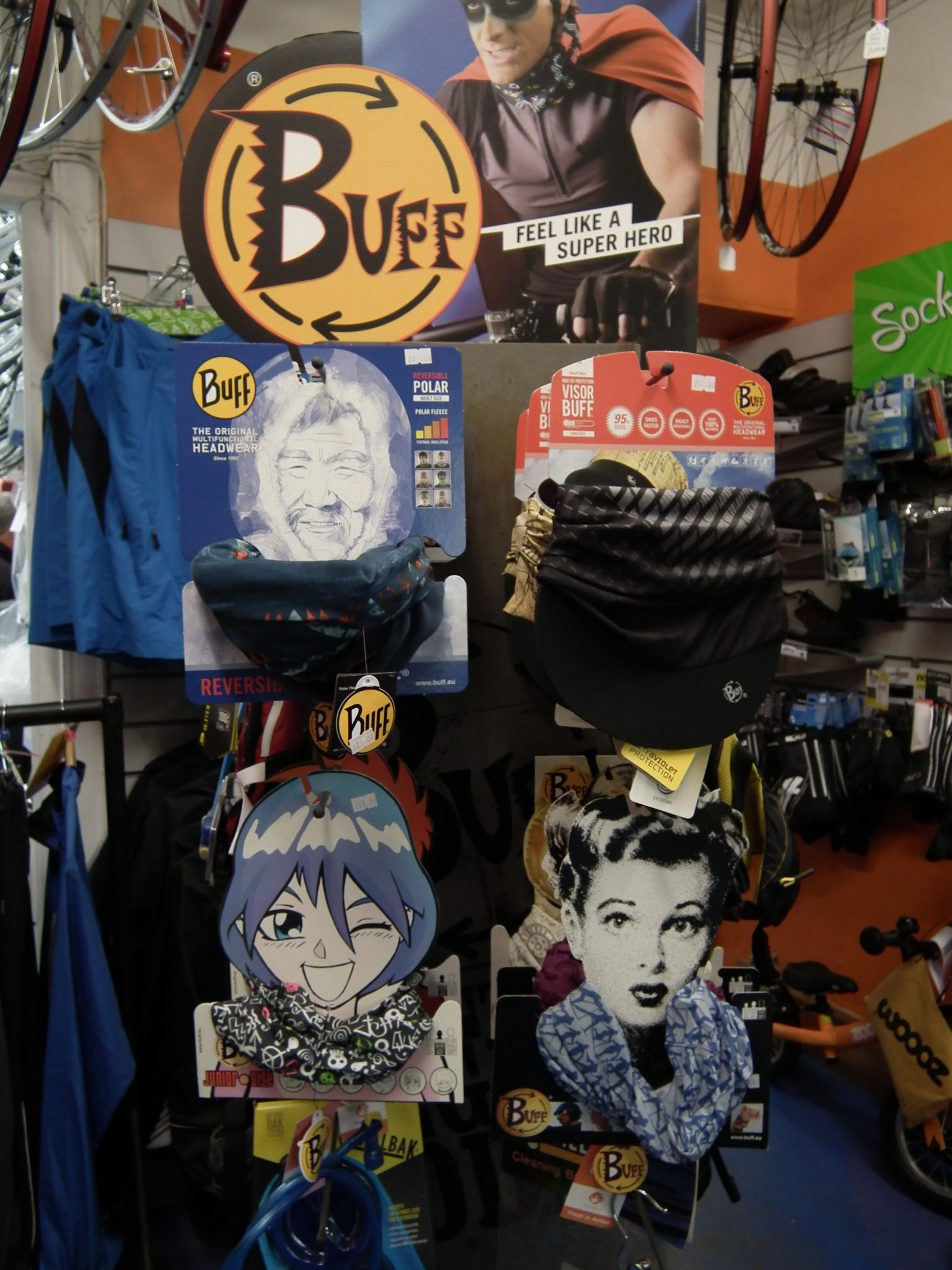 BUFF – the multi functional headwear