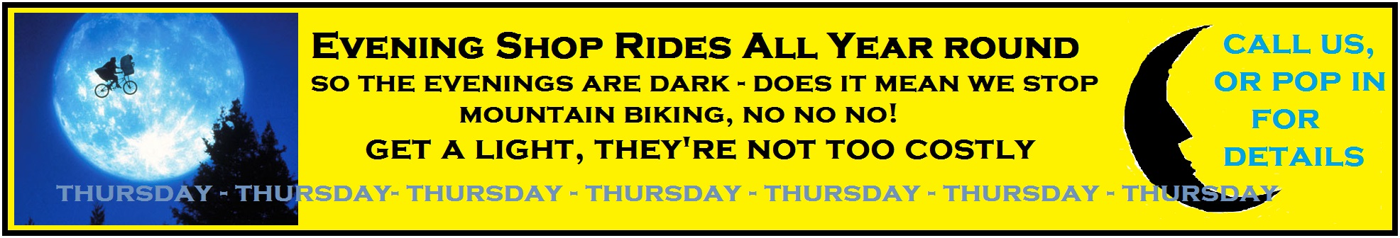 night ride banner