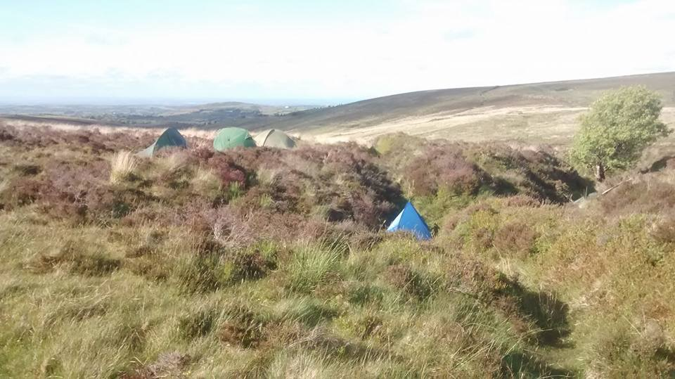 FTA PITCHED TENTS