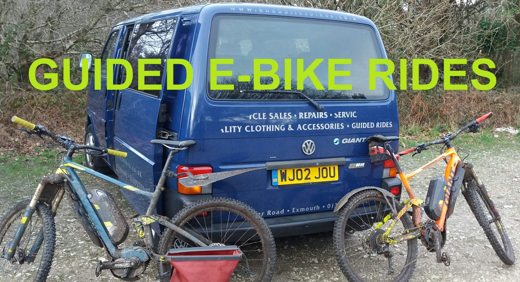 GUIDED EBIKE RIDES